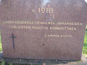 Punaisten Muistomerkit